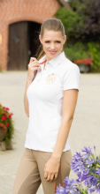 HKM LAURIA GARELLI GOLDEN GATE COLLECTION  POLO SHIRT - WHITE  RRP £43.95